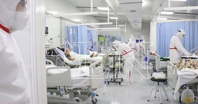 La Nación / Reportan leve descenso de fallecidos, pero el contagio sigue siendo alto