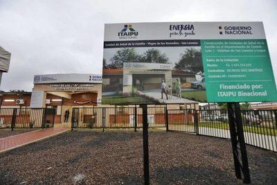 Inauguran cinco Unidades de Salud en Central