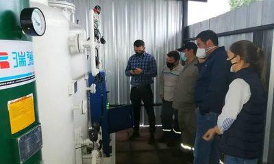 Adelantan habilitación de planta de oxígeno en Villa Elisa ante escasez del producto
