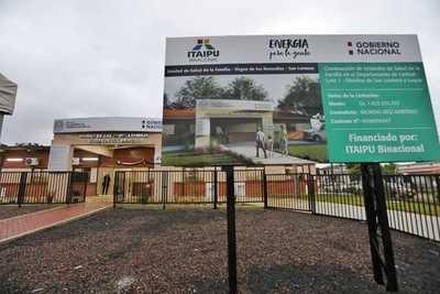 Gobierno inaugura otras cinco USF en Central con financiamiento de Itaipu