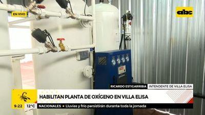 Habilitan planta de oxígeno en Villa Elisa