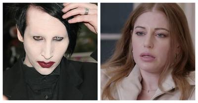 """Sobreviví a un monstruo"": exnovia de Marilyn Manson asegura que la obligó a hacer un ""pacto de sangre"""