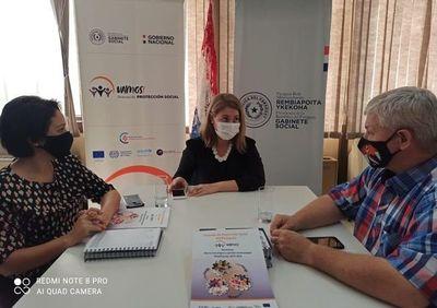 Intendente solicita cooperación para un mayor acceso a salud y agua en Mcal. Estigarribia