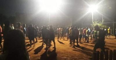 La Nación / Investigan denuncia por cierre de calle para disputa de pikivóley en Capiatá