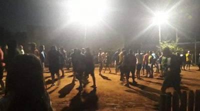 Denuncian a responsables de cierre de calle para disputa de pikivóley en Capiatá, Fiscalía ya investiga el caso
