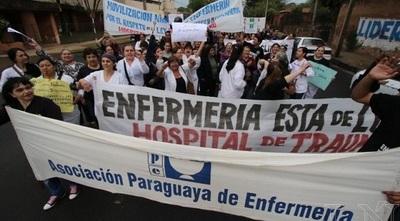 Enfermeros se movilizarán reclamando recategorización e insumos
