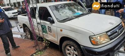 Violento asalto y balacera en San Lorenzo: Delincuentes se habrían alzado con G. 100 millones
