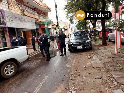 Asaltantes se llevaron G. 200 millones de la Municipalidad de San Lorenzo