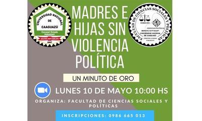 "Organizan conversatorio denominado ""Madres e Hijas Sin Violencia Política"" – Prensa 5"