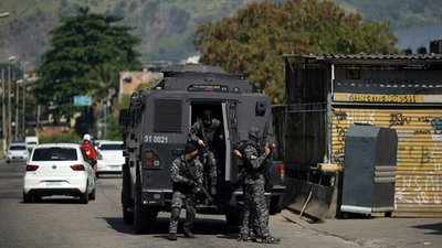 Un operativo policial contra el narcotráfico dejó al menos 25 muertos en una favela de Rio