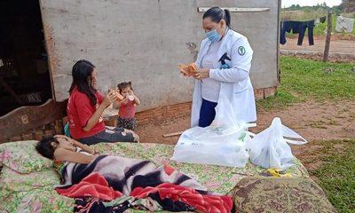 Materializan asistencia a indigente en Franco