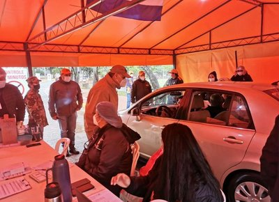 SEN prosigue con apoyo a vacunatorios masivos de Asunción y Central