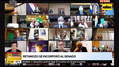 Aceptan renuncia de Gusinky y asumió Ramón Retamozo