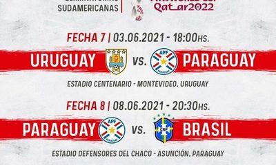 Calendarizan juegos ante Uruguay y Brasil