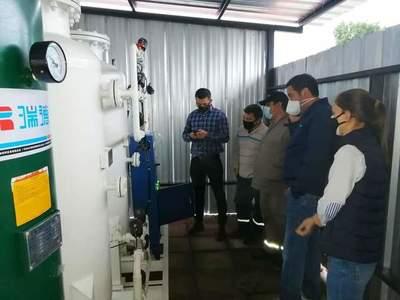 Planta de oxígeno construida por la Municipalidad de Villa Elisa comenzó a funcionar