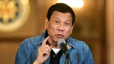 El presidente de Filipinas ordena arrestar a quienes usen mal el tapabocas