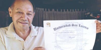 CON 64 AÑOS, ZAPATERO CUMPLE SU SUEÑO DE CONVERTIRSE EN ABOGADO