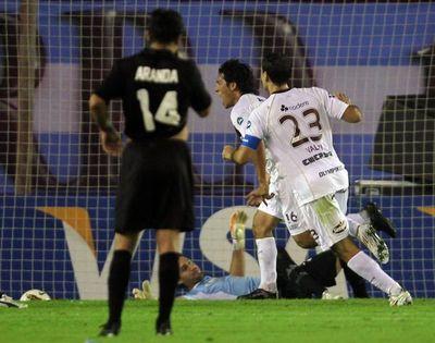Sergio Orteman, del 6-0 con Lanús al 6-1 con Internacional de Porto Alegre