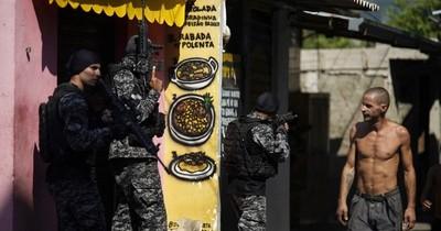La Nación / Operación antidroga en Rio de Janeiro deja 25 muertos