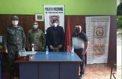Viceministro de Seguridad atiende denuncia de periodista amenazado de muerte