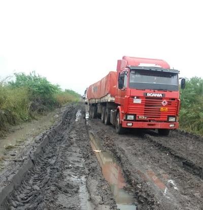 Itacua y comunidades ribereñas de nuevo sin camino