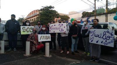 Trabajadores de eventos vuelven a manifestarse pidiendo ayuda al Gobierno