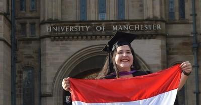 La Nación / Paraguaya sobresaliente: realizó un máster en Inglaterra con miras a contribuir al desarrollo social