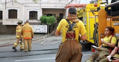 La Nación / Senado aprueba con modificaciones el régimen de seguridad y protección para bomberos