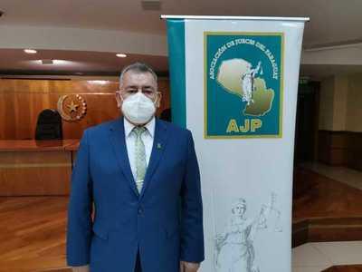 Reelecto presidente de la AJP, Delio Vera Navarro