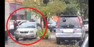 En violento asalto roban recaudación del día de la Municipalidad de San Lorenzo