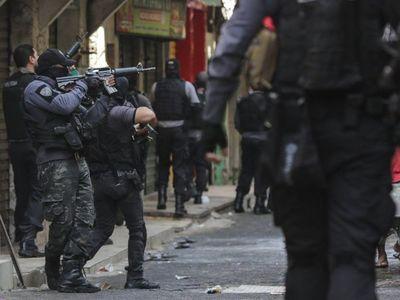 Acción policial deja 25 muertos en una favela de Rio de Janeiro