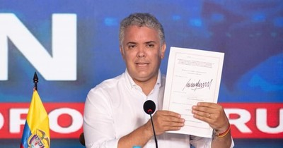 """La Nación / Duque llama a un diálogo con """"todos los sectores"""" por protestas en Colombia"""