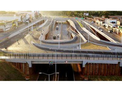 Habilitan parcialmente  multiviaducto tras el pedido  de los comerciantes