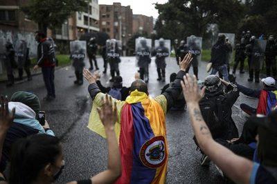 Fiscalía de Colombia registró 26 muertos durante las protestas en el país