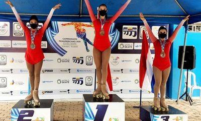 Paraguay hace historia en Panamericano de patinaje artístico