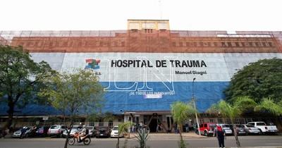 La Nación / En el Hospital del Trauma piden cumplimiento de la recategorización salarial