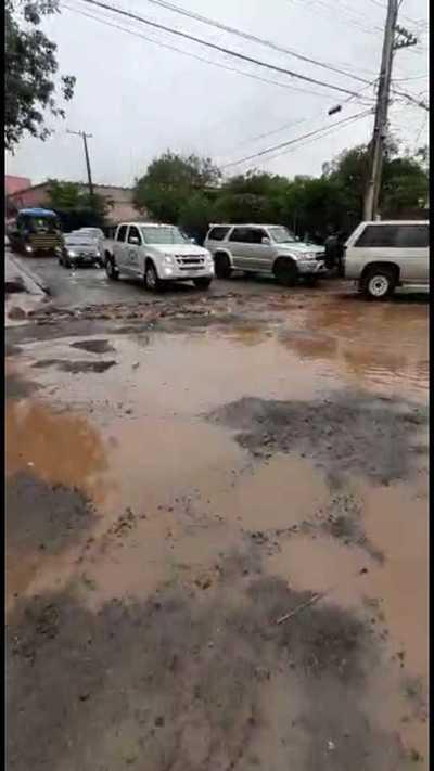 Cansada del peichapeichante del gobierno municipal de Quiñones