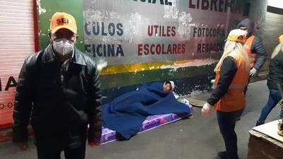 Tras noche fría asisten a personas en situación de calle – Prensa 5