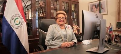 Ministra Wapenka compartió el trabajo de la Justicia Electoral en encuentros internacionales