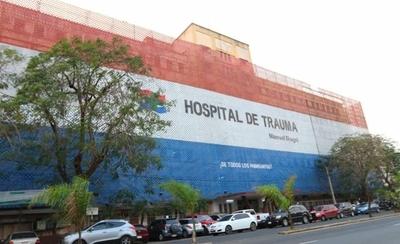 Funcionarios del Hospital del Trauma exigen la aplicación de la Ley de recategorización salarial