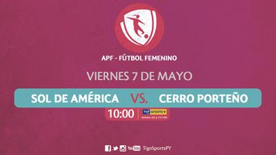 Sol de América y Cerro Porteño dan inicio a la segunda fecha
