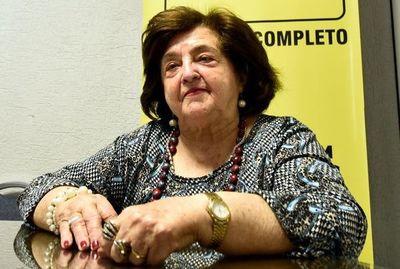 Falleció la maestra Rosa Mereles, formadora de destacados músicos