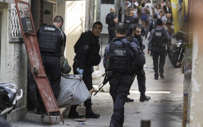 Brasil: una operación policial contra la droga deja 25 muertos en una favela de Río