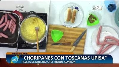 Cocina LMCD: Choripanes con toscana UPISA