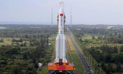 ¿Dónde caerá el cohete chino?