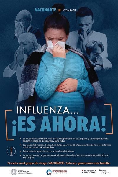 Arranca vacunación contra influenza en todo el país