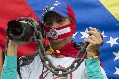 """La ONG venezolana Espacio Público denunció la detención de ocho personas en abril sólo """"por expresarse"""""""