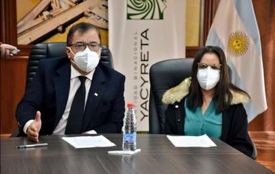 Gobierno compra oxígeno para hospitales por valor de G. 2.500 millones, a través de la EBY