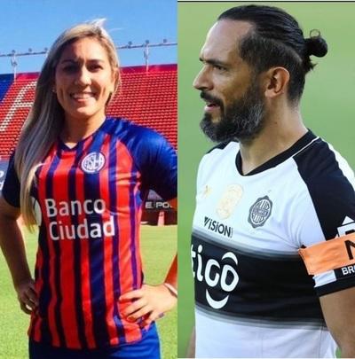Riña futbolística: Laura Romero encara a Roque Santa Cruz e internautas reaccionan