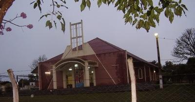 Ladrones «pelan» parroquia de Yby Yau